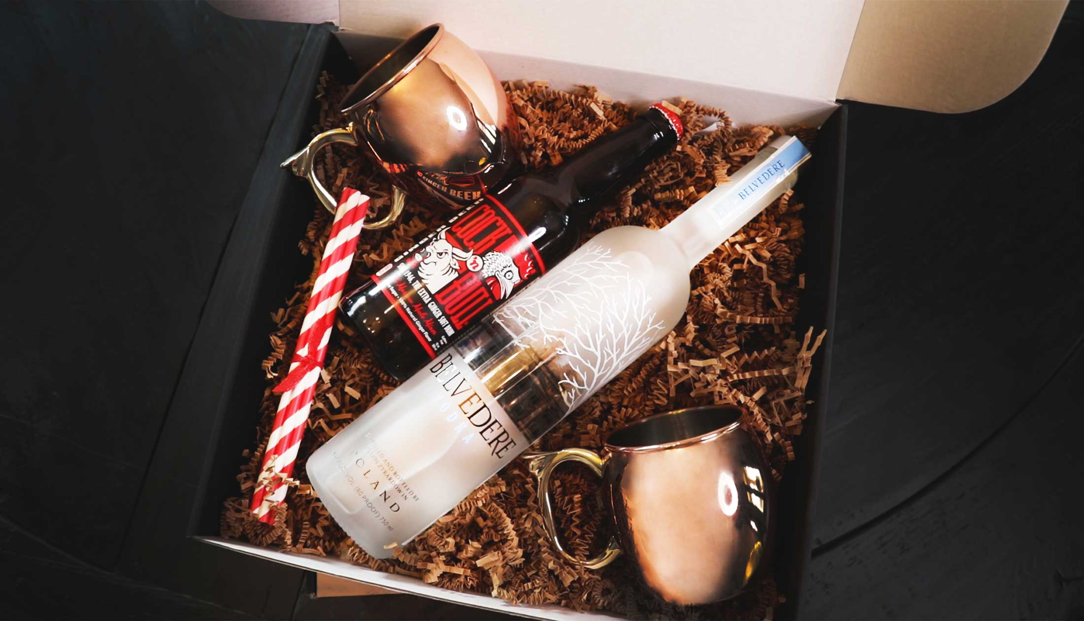 Cranberry Moscow Mule Giftbox